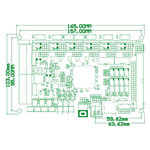 BIGTREETECH Direct M5 V1.0 Expansion Board 3D Printer Parts for GTR V1.0 Control Board