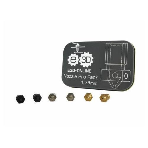 E3D v6 Nozzle Pro Pack 1.75mm 3D Printer Spare Parts