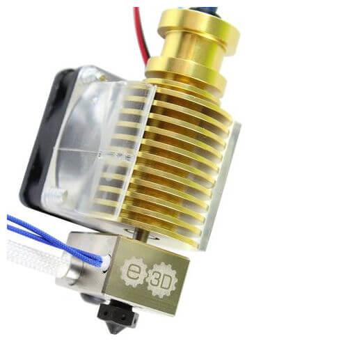 E3D V6 Gold Full Kit Hotend - 3D Printer Spare Parts