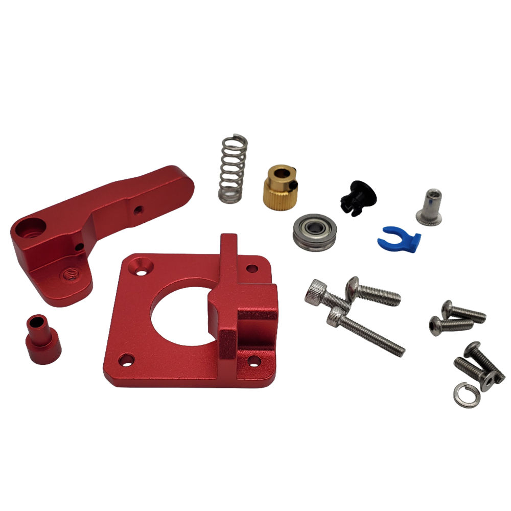 Creality MK8 Bowden Red Aluminum Extruder Parts Upgrade - 3D Printer Spare Parts