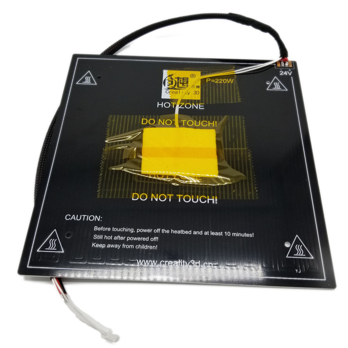 Creality Ender 3 Heat bed - 3D Printer Spare Parts