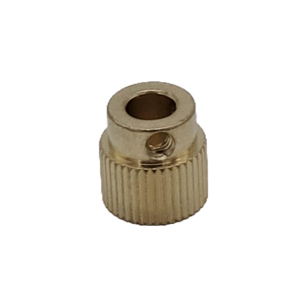 40 Tooth Brass Extruder Gear - 3D Printer Spare Parts