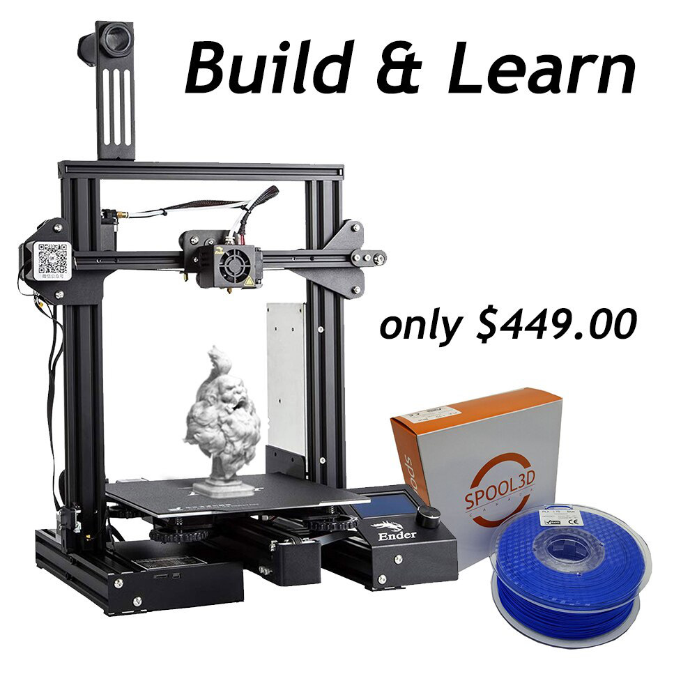 Ender 3 Build and Learn