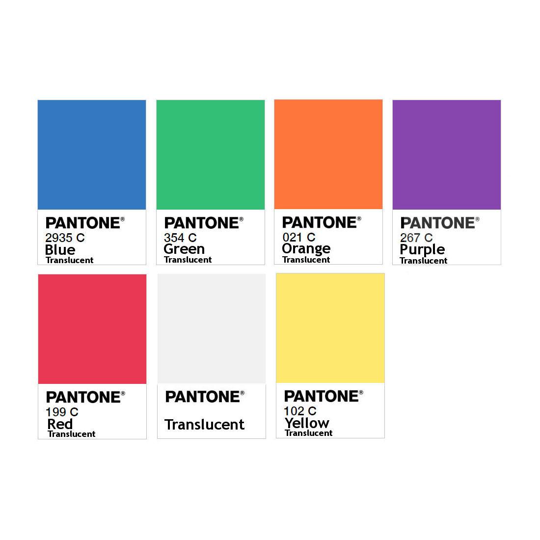 PETG Filament Pantone Translucent - 1.75mm 3D Printer Filament
