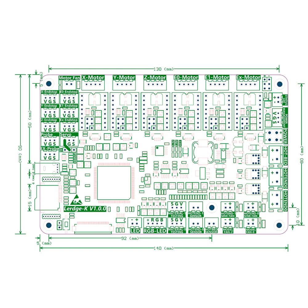 Lerdge-K 32-bit Control Board 3D Printing Canada