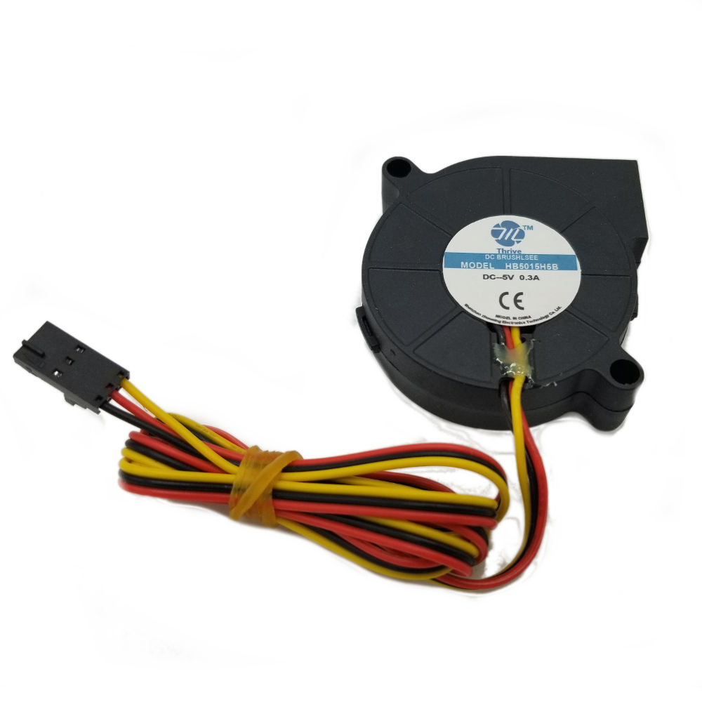 5V 3-Wire 5015 Print Cooling Fan  -  3D Printing Canada