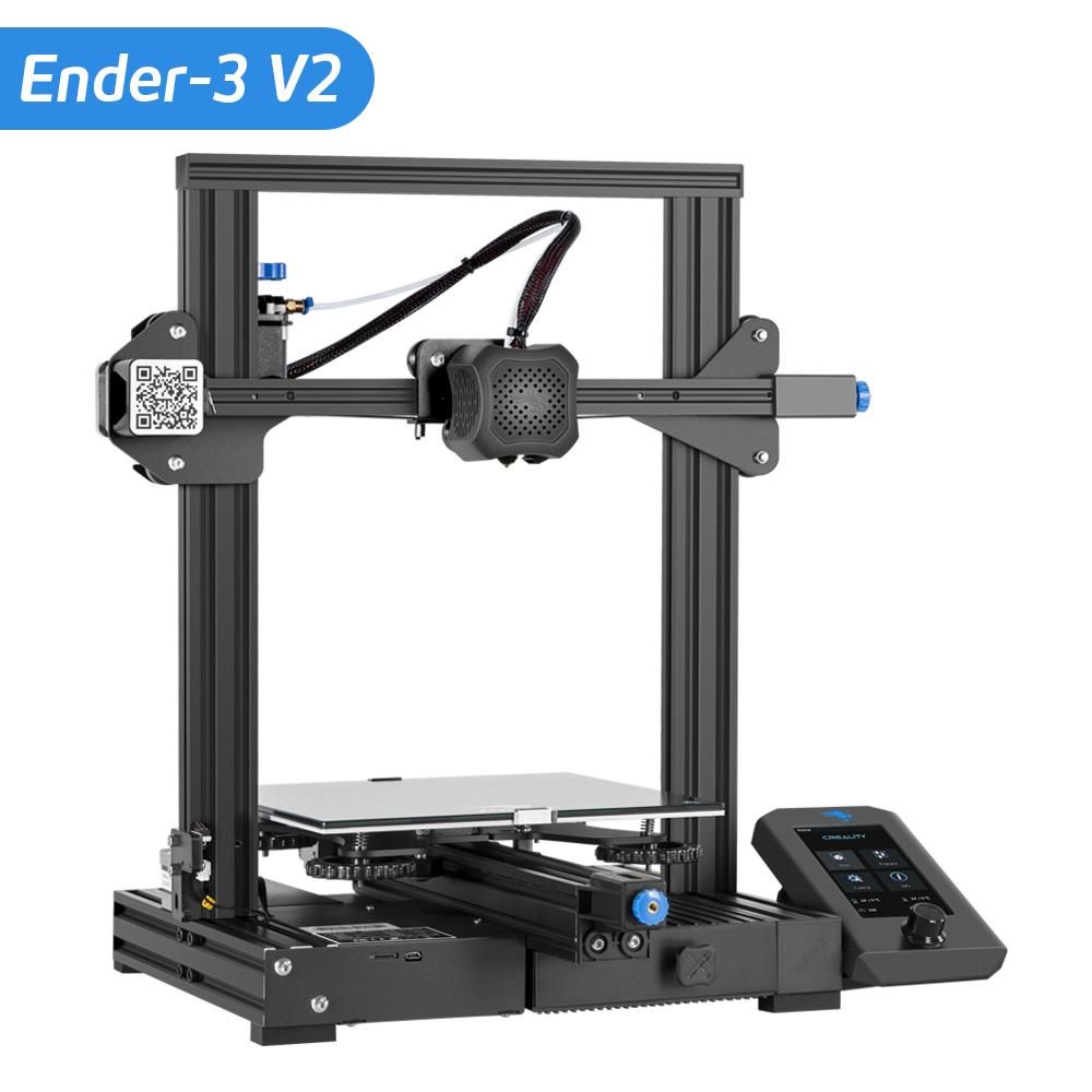 Creality Ender-3 v2 3d Printer | SPOOL3D Canada