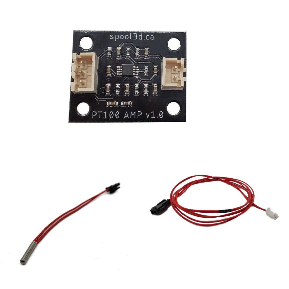 Spool3D PT100 - Board and Sensor