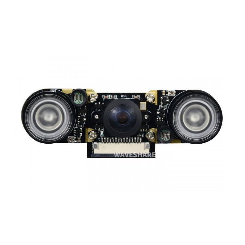 Waveshare Raspberry Pi Night Vision IR Fisheye Lens Camera - 3D Printer Spare Parts Canada