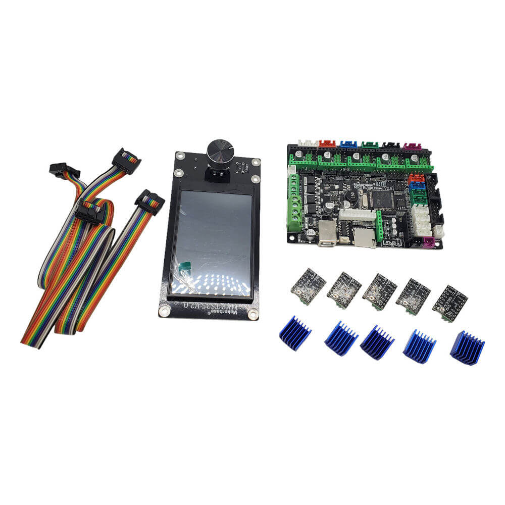 Makerbase MKS Robin Nano v2.0 32-bit 3D Printer Control Board Kit - 3D Printer Spare Parts