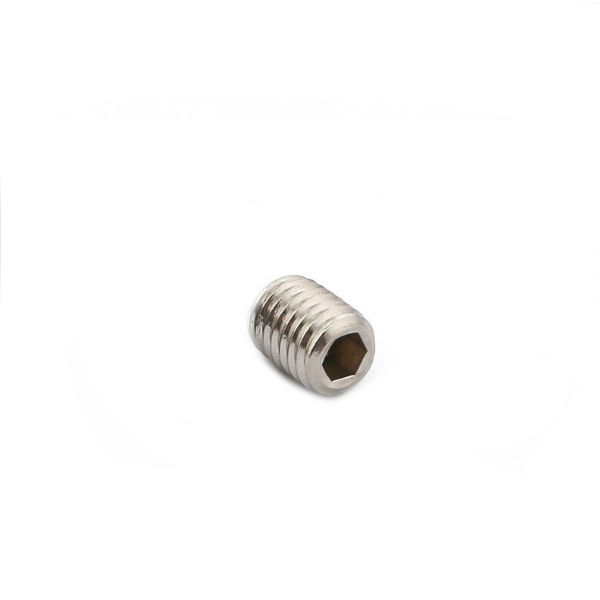 M3 Flat Point Grub Screw - Stainless Steel - 3D Printer Spare Parts and Fasteners