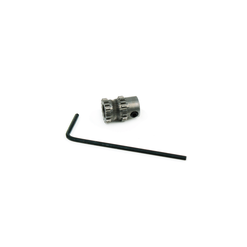 Micro Swiss Motor Gear for Direct Drive Extruder - 3D Printer Spare Parts