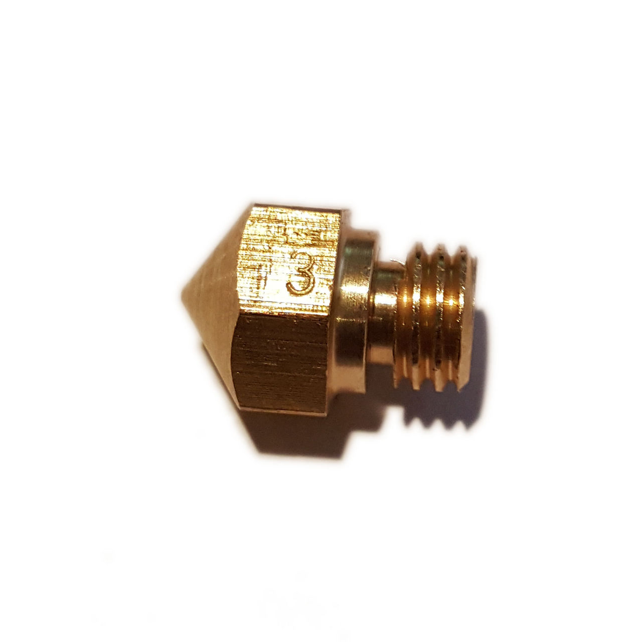 MK10 0.3mm Brass Nozzle - 3D Printing Canada