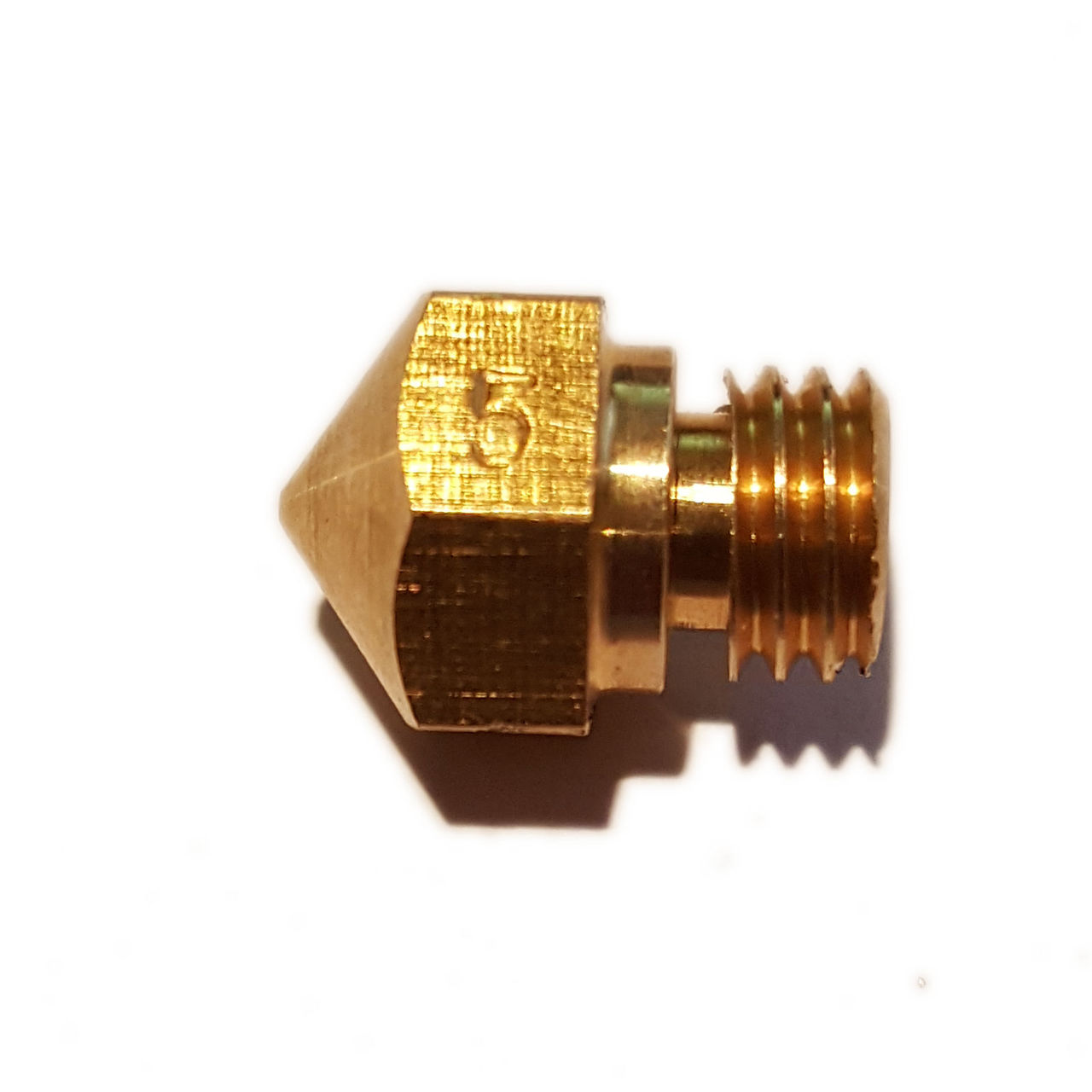 MK10 0.5mm Brass Nozzle - 3D Printing Canada