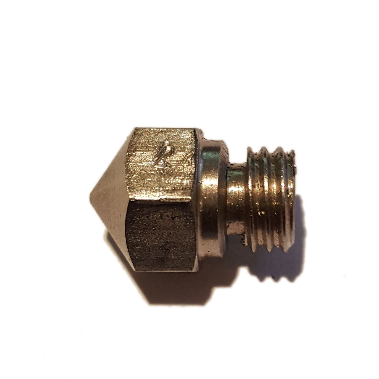 MK10 0.4mm Stainless Steel Nozzle - 3D Printing Canada