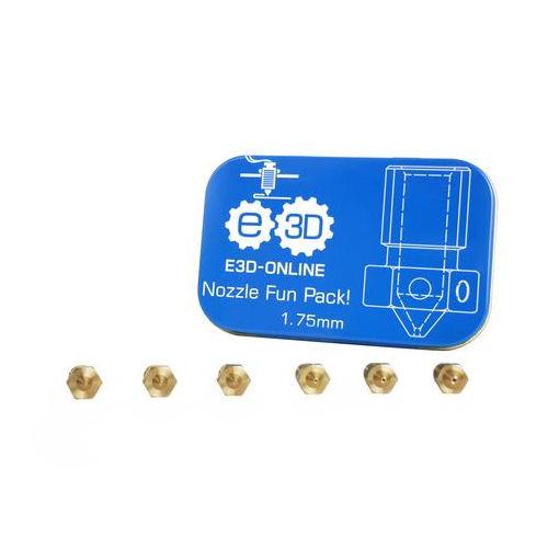 E3D v6 Brass 1.75mm Nozzle Fun Pack 3D Printer Spare Parts