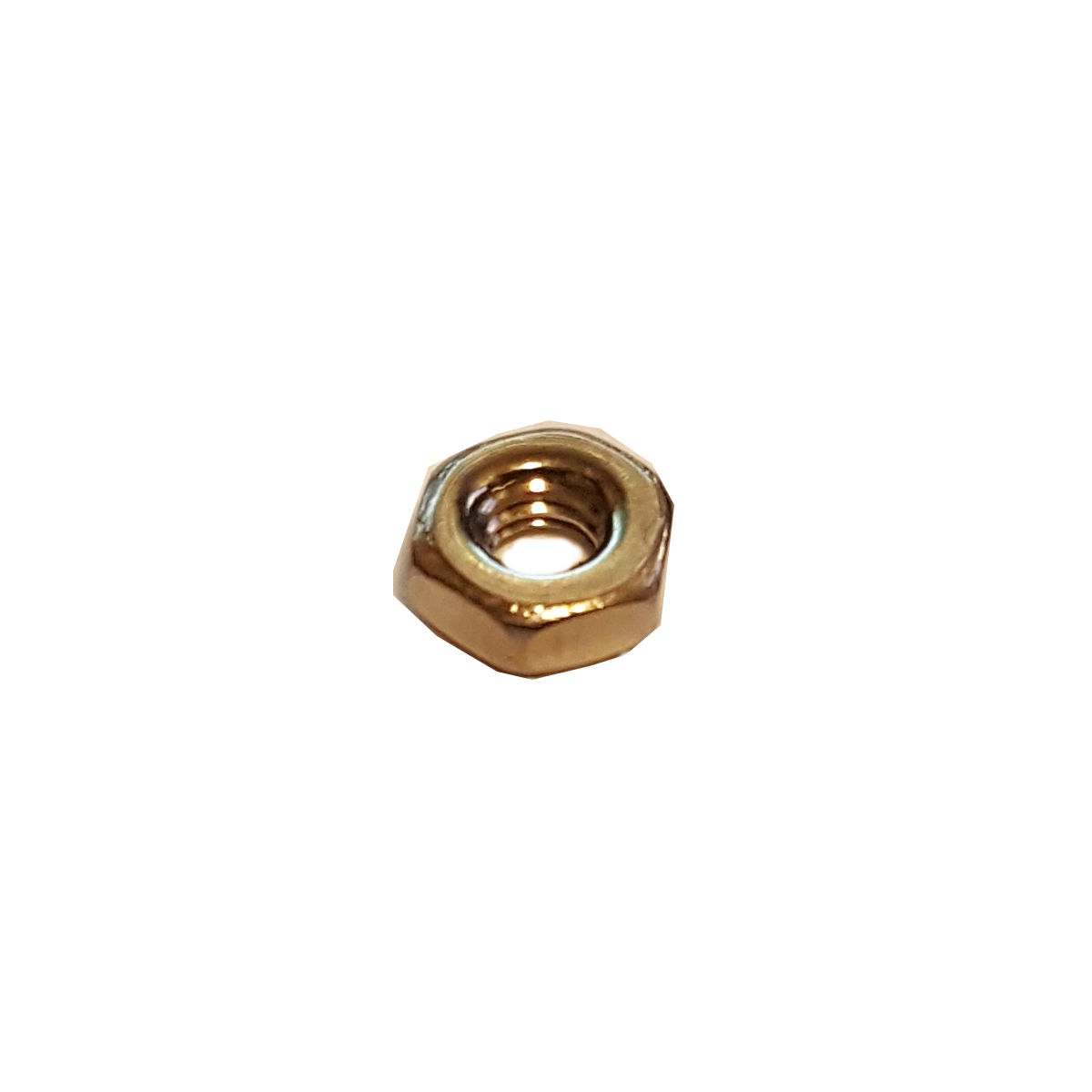 M2 Hex Nut - Stainless Steel - 3D Printing Canada