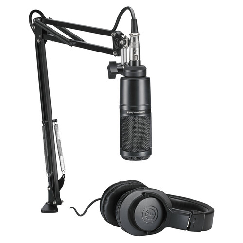 Audio-Technica AT2020PK Streaming and Podcasting Kit