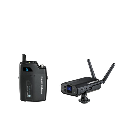 Audio-Technica ATW-1701 System 10 Camera-Mount Wireless Body-Pack System