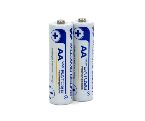 Williams AV BAT 026-2 AA Rechargeable Batteries