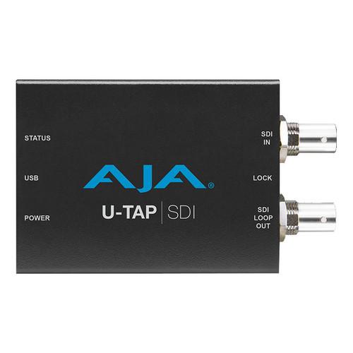AJA U-TAP SDI Simple USB 3.0 Powered 3G-SDI Capture front