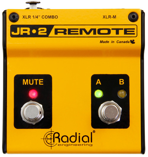 Radial JR2 Dual Remote Footswitch