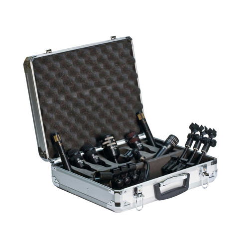Audix DP7 7-Piece Drum Microphone Package in Case