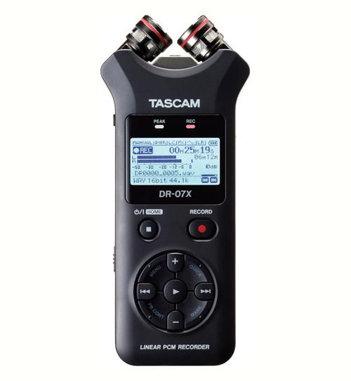 Tascam DR-07X Stereo Handheld Digital Audio Recorder / USB Audio Interface