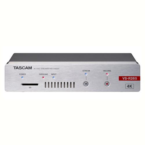 Tascam VS-R265 4K / UHD Streamer / Recorder