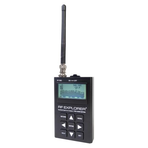 RF Venue RF Explorer Pro Audio Edition Handheld RF Spectrum Analyzer