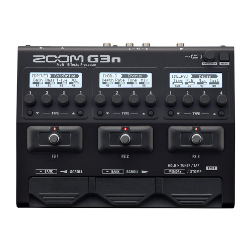 Zoom G3n Multi-Effects Processor