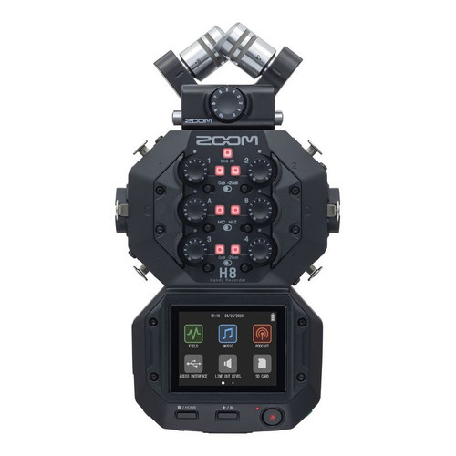 Zoom H8 Eight-Track Handy Recorder
