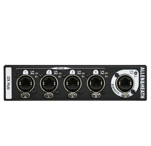 Allen & Heath DX Hub Remote Audio Networking Hub