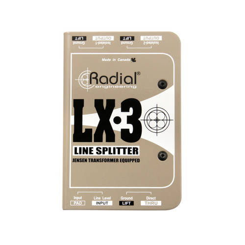 Radial LX3 Line-Level Splitter