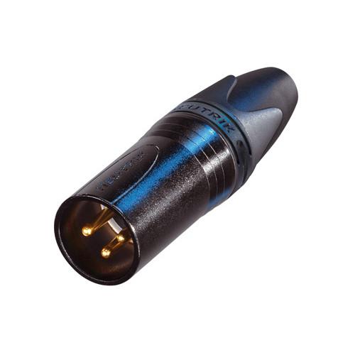 Neutrik NC3MXX-B Male XLR Connector