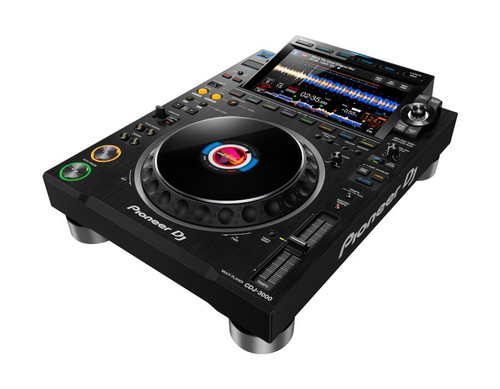Pioneer DJ CDJ-3000 Professional DJ Multi Player, Black