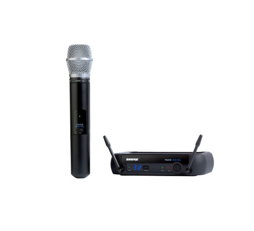 Shure PGXD24/SM86 Handheld Wireless System with Handheld Wireless Microphone