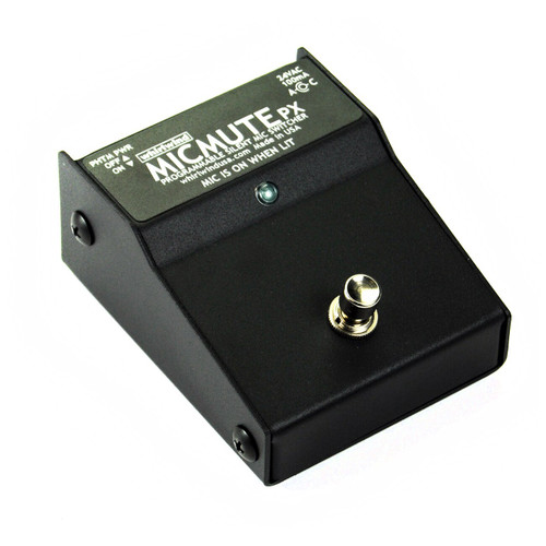 Whirlwind MICMUTE PX Programmable Silent Mic Switcher