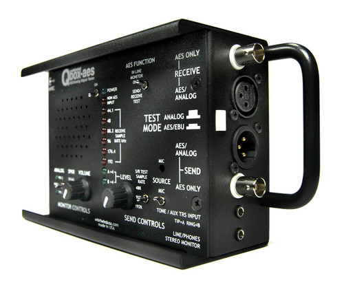 Whirlwind Qbox-AES Multipurpose Tester
