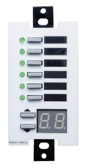 Ashly WR-5 6-Button Serial Remote
