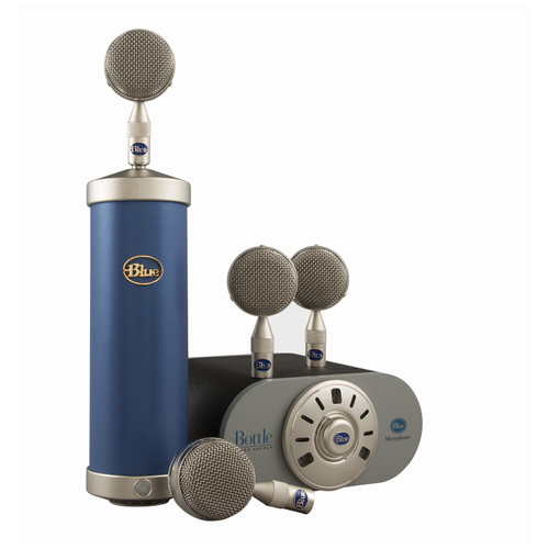 Blue Microphones Bottle Mic Locker Condenser Mic and Capsule Collection
