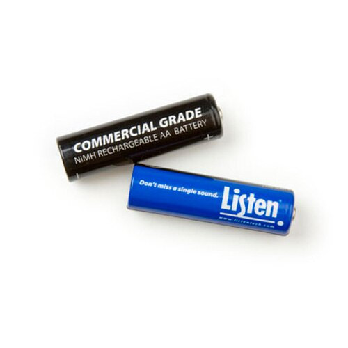 Listen Technologies LA-362 Rechargeable AA NiMH Batteries