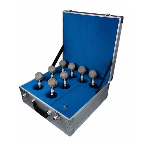 Blue Microphones Bottle Cap Kit 8 Mic Capsules and Flight Case