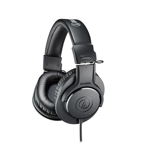 Audio-Technica ATH-M20x Closed-Back Monitor Headphones