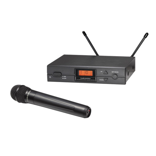 Audio-Technica ATW-2120b UHF Wireless Handheld System