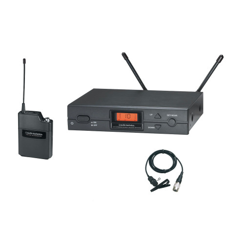 Audio-Technica ATW-2129b Digital Wireless Lavalier System