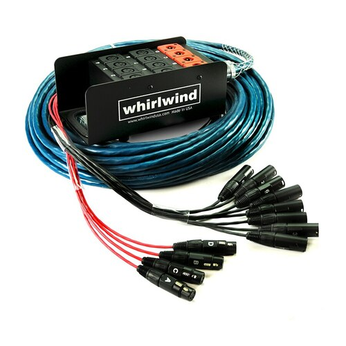 Whirlwind MS-8-4-XL Medusa Standard Audio Snake