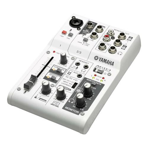 Yamaha AG03 Compact 3-Channel Multipurpose Mixer