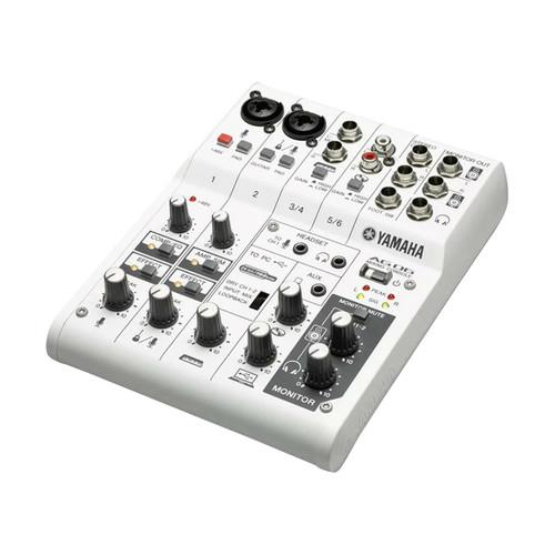 Yamaha AG06 Compact 6-Channel Multipurpose Mixer
