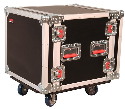 Gator G-TOUR 10U 17'' Deep Standard Rack with Casters
